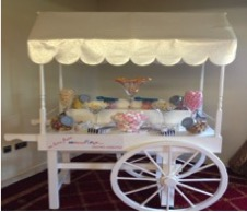 tempt your wedding guests with candy buffet sweet treats and hire a candy cart with cheltenham company all about fun uk ~ weddings