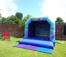 Welcome to All about fun uk ~ bouncy castle hire for weddings. Wedding day  bouncy castles perfect for your wedding day in Gloucestershire, Oxfordshire.