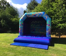 Welcome to the white bouncy castle hirers ~ all about fun uk, Cheltenham, Gloucestershire. Book your wedding bouncy castle on 01242 235273.