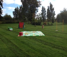 giant games are perfect lawn games to hire to keep your wedding guests entertained throughout the day.  Call all about fun uk weddings on 01242 235273