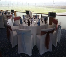 Wedding chair covers Gloucestershire – hire wedding chair covers from Cheltenham venue stylists all about fun uk weddings.